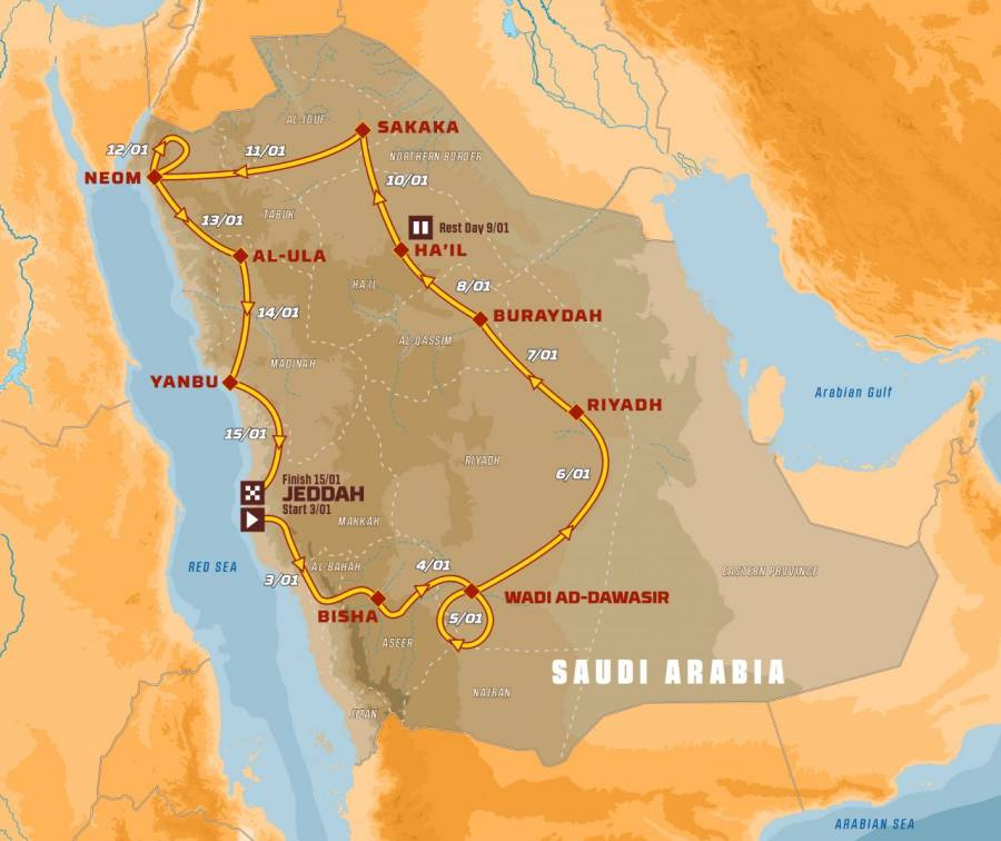New Dakar 2021 details unveiled
