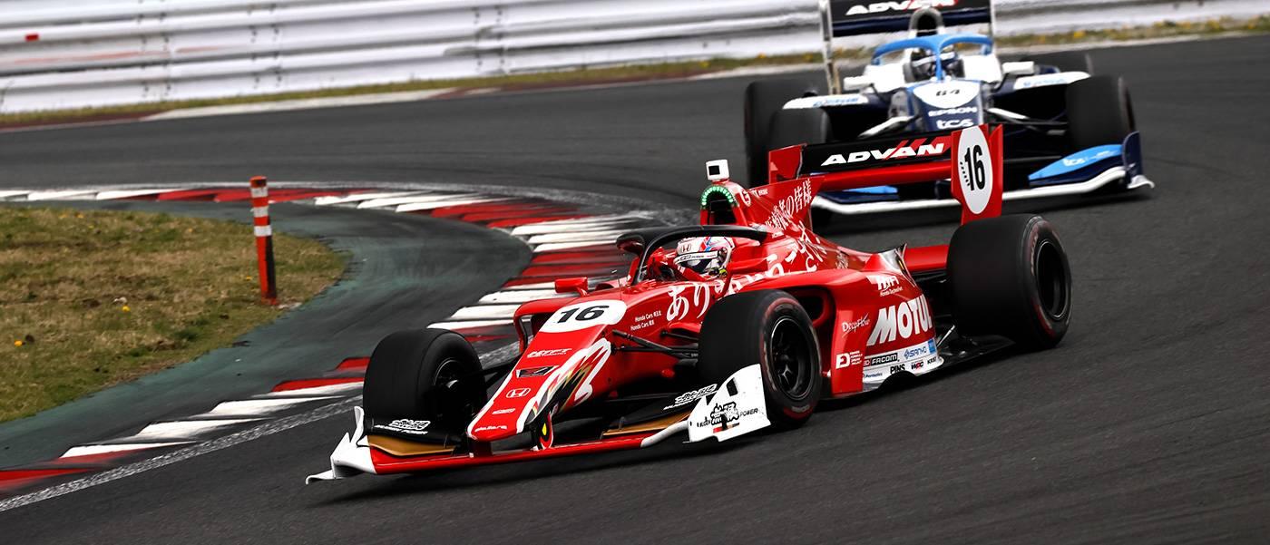 Nojiri Dominates from Pole, Honda Dominates Podium with Oyu Second, Fukuzumi Third
