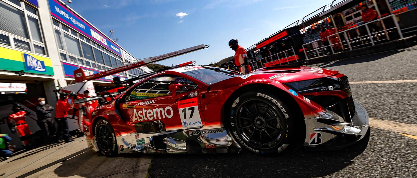 Astemo NSX-GT Fifth in SUPER GT Okayama Season-Opener