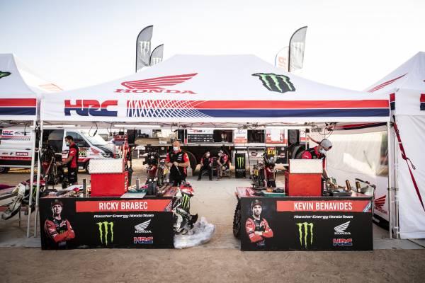 Monster Energy Honda Team 総合優勝を目指し士気を高める