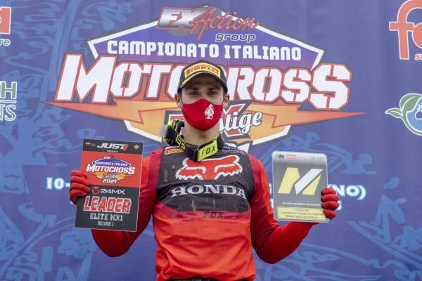 ガイザーがイタリアモトクロス選手権の開幕戦を制する