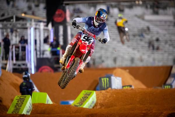 Dominant 1-2 Result for Team Honda HRC Riders Roczen and Sexton at Atlanta 2 SX