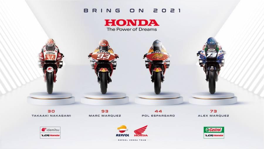 Honda MotoGP 2021シーズンポスター