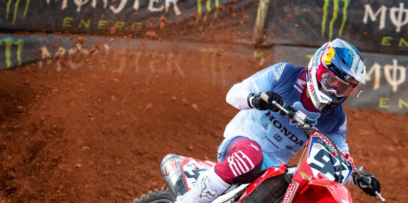 Dominant 1-2 Result for Team Honda HRC Riders Roczen and Sexton at Atlanta 2 SX