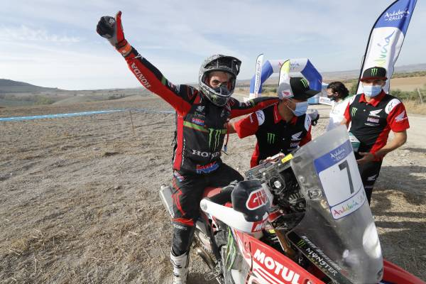 Great triumph for Kevin Benavides in the Andalucia Rally