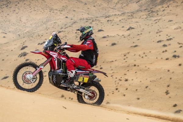 Monster Energy Honda Teamブラベックとコルネホが第7ステージにて1位-2位を獲得。コルネホが総合順位トップへ躍り出る