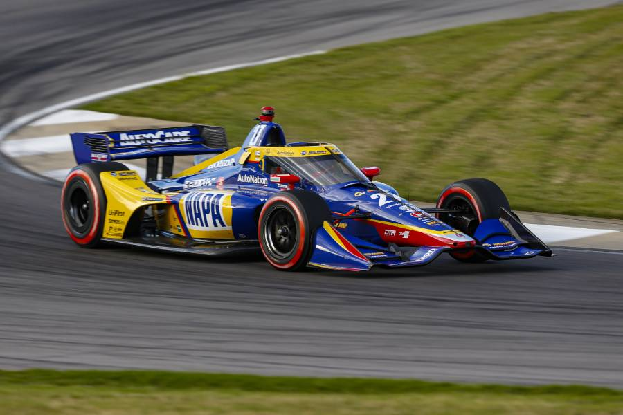 Front Row Start for Rossi in Honda Indy Grand Prix of Alabama Qualifying