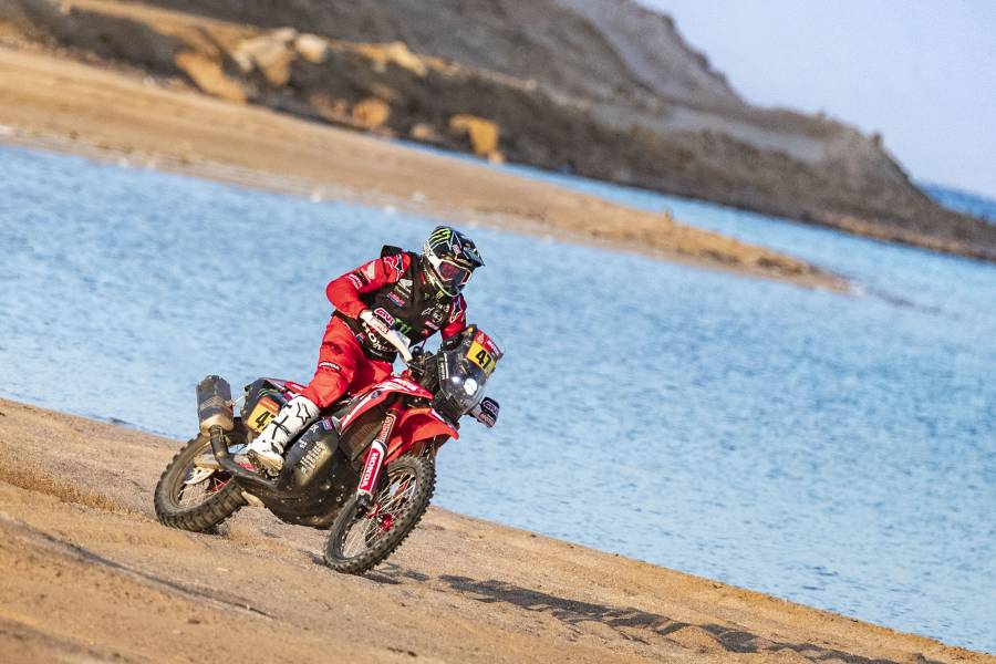 Monster Energy Honda Team leads as the Dakar Rally heads into the final stretch