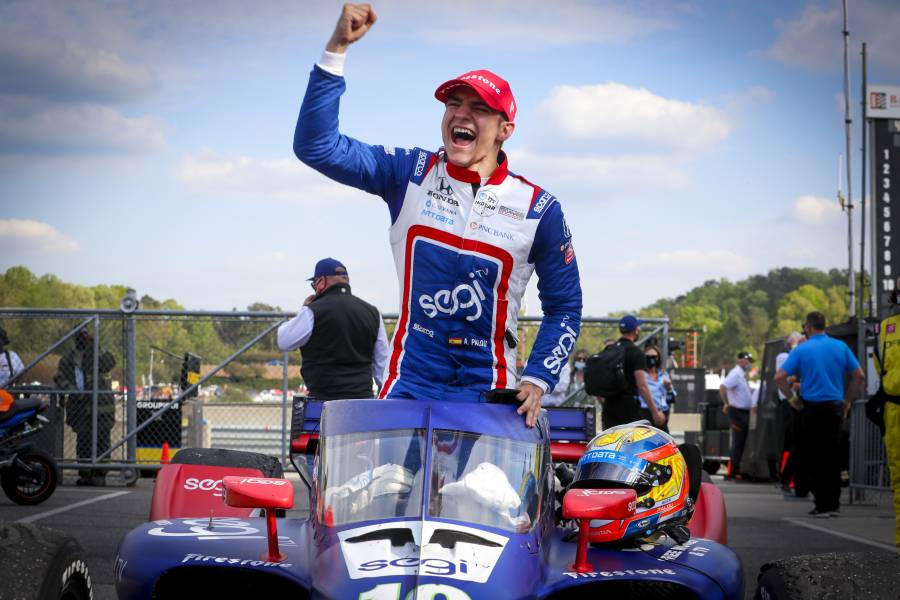 Alex Palou takes first career win in IndyCar Series opener
