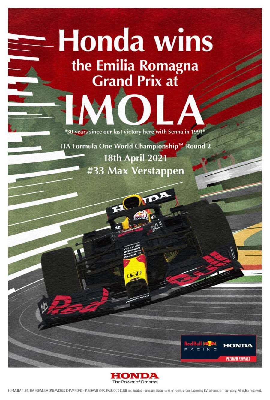 #ImolaGP Win Poster