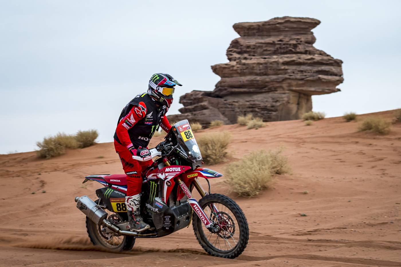 Kevin Benavides takes the command of the Dakar Rally with two days to go