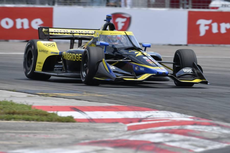 セントピーターズバーグ予選でコルトン・ハータがポールポジションを獲得