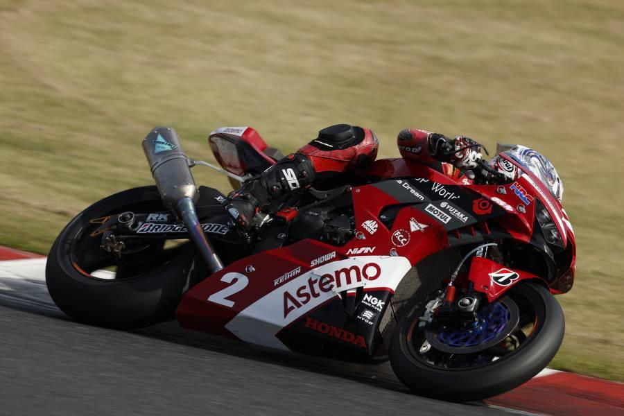 清成龍一が2戦連続の2位、亀井雄大が初の3位表彰台に登壇