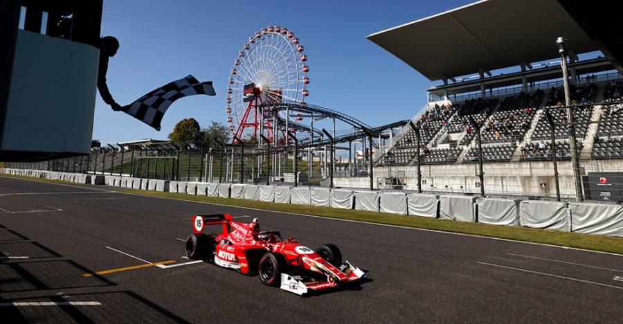 野尻が開幕2連勝。笹原が初表彰台となる3位