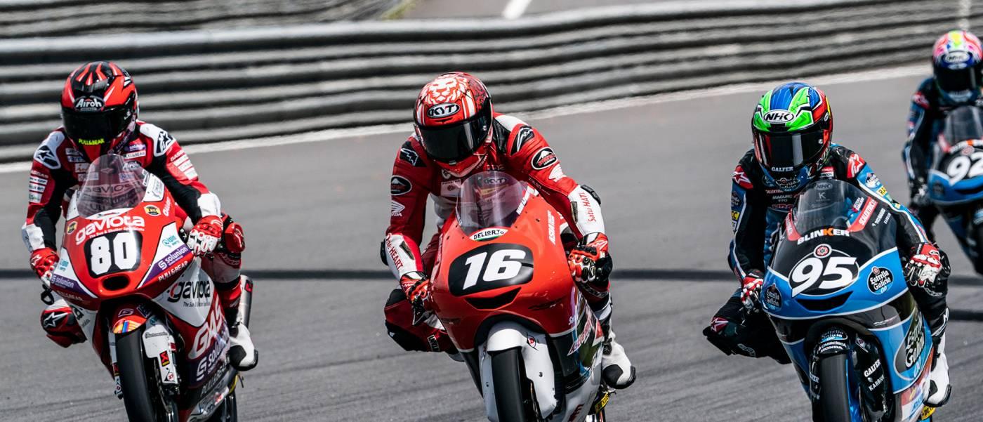 Mario Suryo Aji places fourth at first round of FIM Moto3™ Junior World Championship