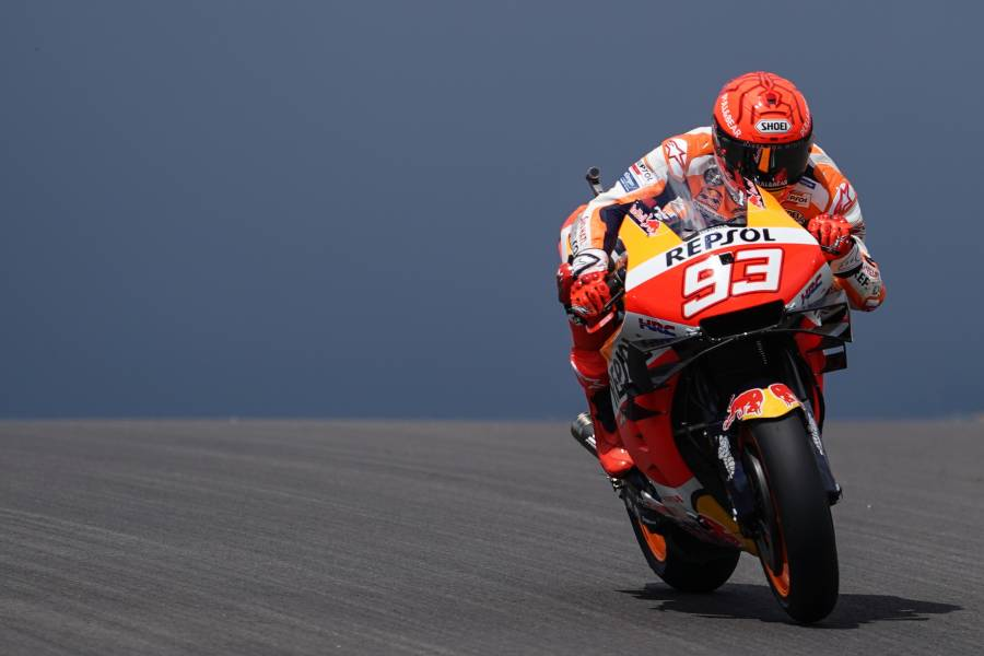 Marquez continues his return, step by step