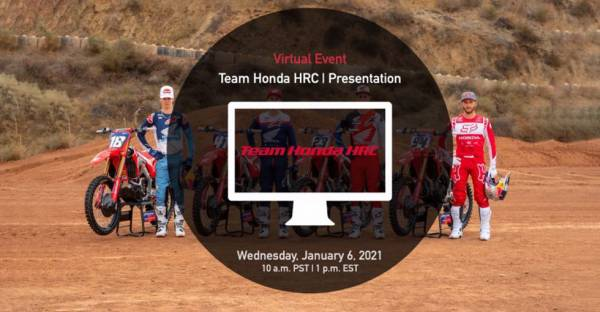 Team Honda HRC 2021 Virtual Presentation