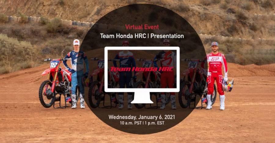 Team Honda HRC 2021年バーチャルプレゼンテーション
