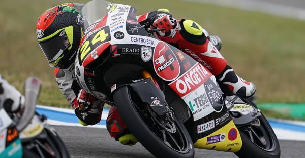 Honda riders rule Jerez Moto3 qualifying