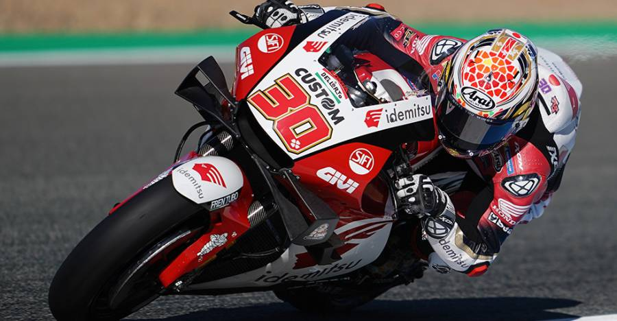 Nakagami battles for front-row start at Jerez