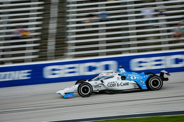 Rahal Brings Honda Home for Third in Texas