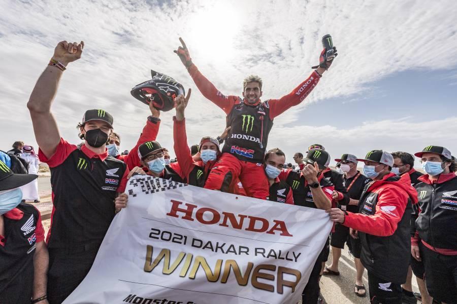 ダカールラリー2021でHondaが1-2フィニッシュ 世界で最も過酷なレースでケビン・ベナビデス総合優勝、リッキー・ブラベック総合2位