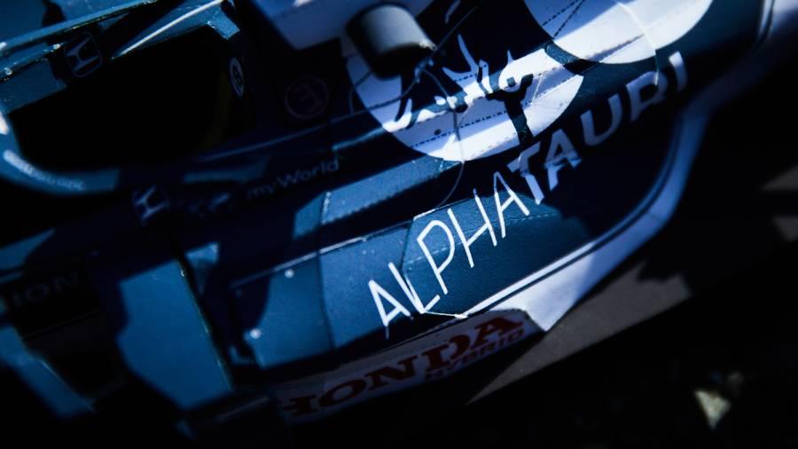 Scuderia AlphaTauri Honda 「AT02」 ペーパークラフト