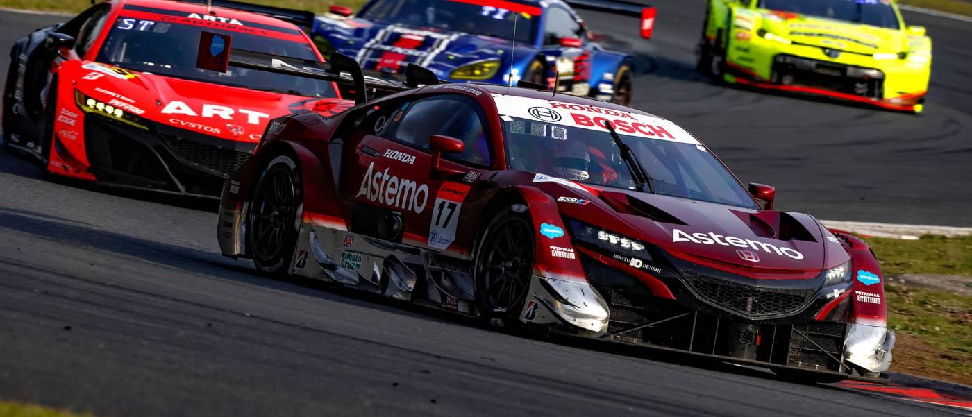 チャンス活かした#17 Astemo NSX-GTが予選11番手から巻き返し優勝
