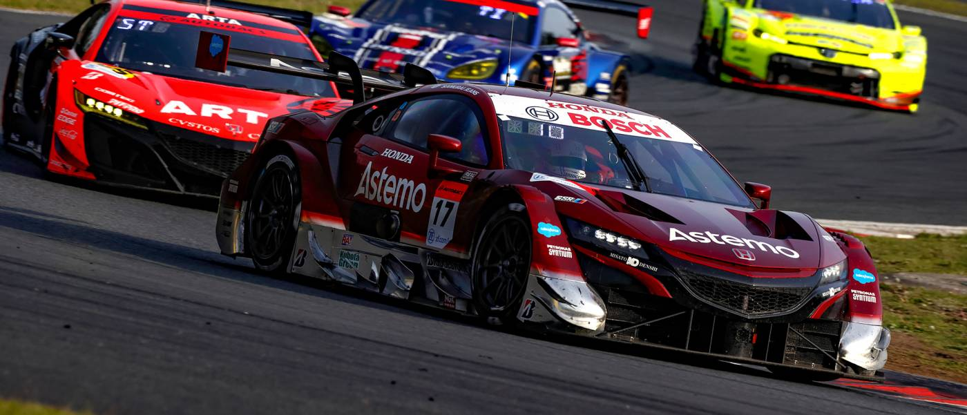 Astemo NSX-GT #17 Clinches Win From 11th Grid