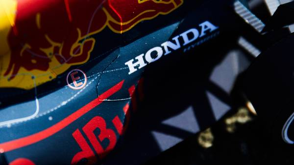 Red Bull Racing Honda 「RB16B」ペーパークラフト