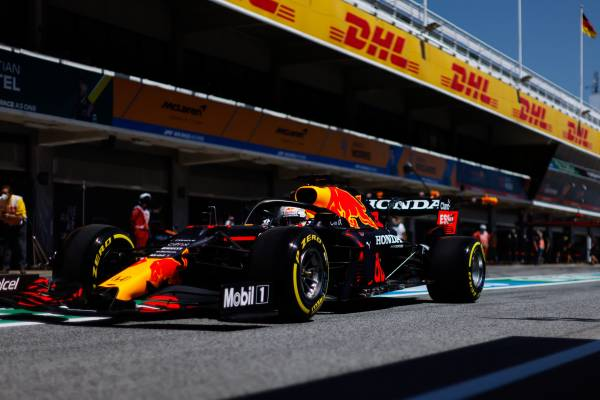 Verstappen Earns A Front Row Start In Spain