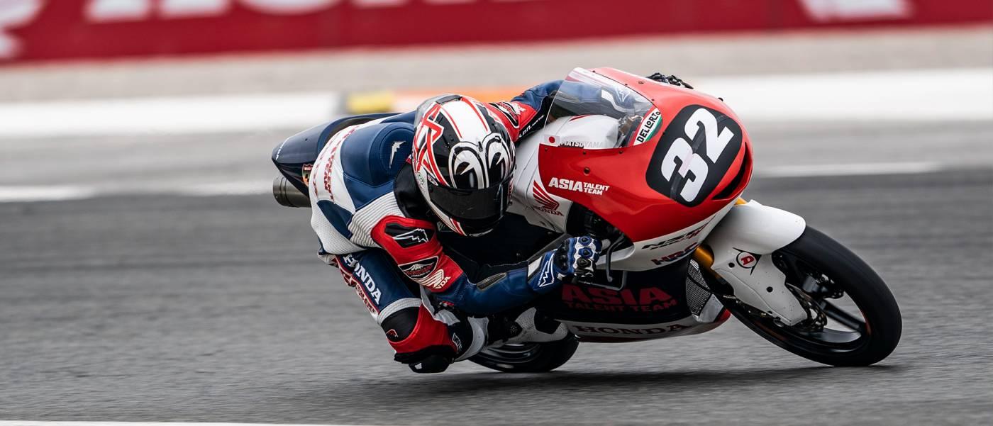 松山拓磨が今シーズン初の表彰台を獲得