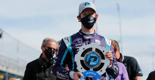 ロマン・グロージャンが初のポールポジションを獲得