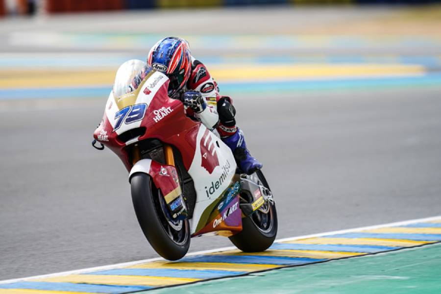 Rookie Ogura Fast In First Moto2 Wet Weekend