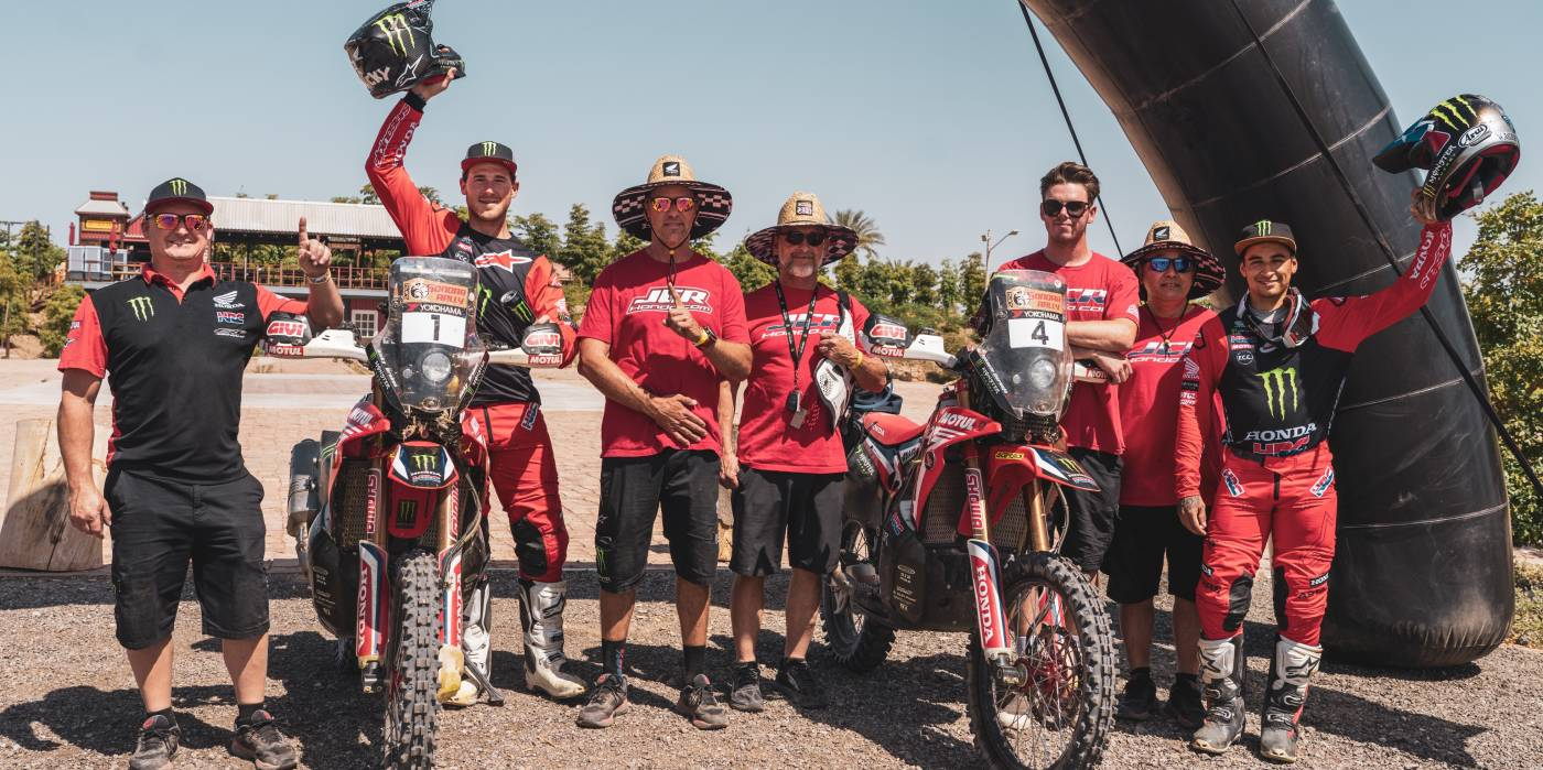 Monster Energy Honda Team: mission accomplished at the Sonora Rally