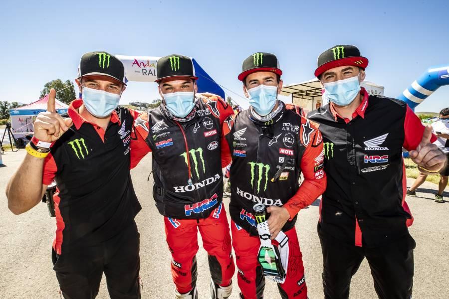 Joan Barreda wins the Andalucía Rally; Pablo Quintanilla third