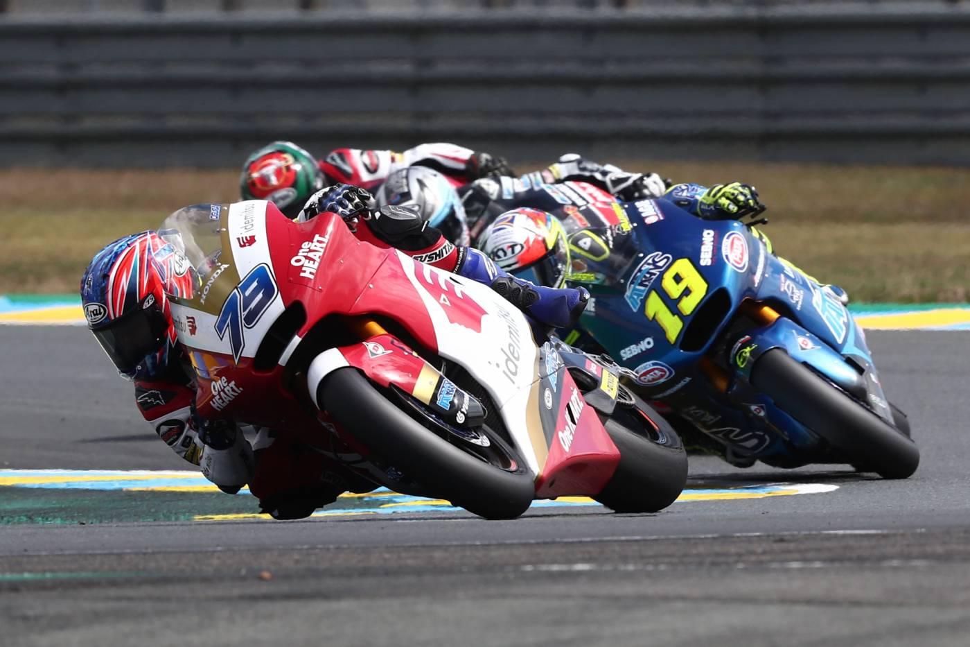 IDEMITSU Honda Team Asiaの両ライダーがポイントを獲得
