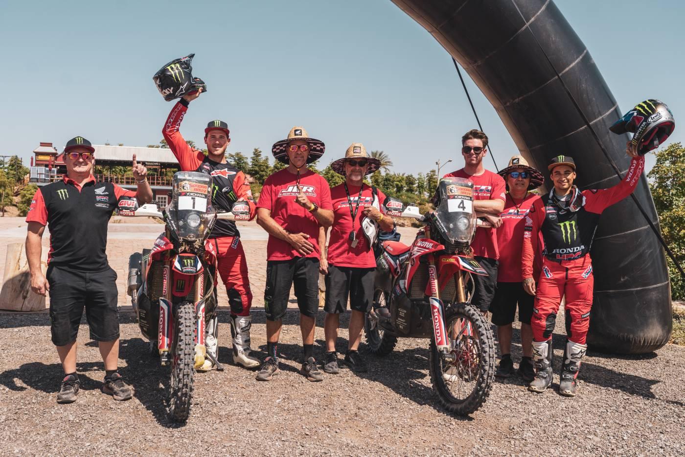 Monster Energy Honda Teamのリッキー・ブラベックがソノララリー3連覇