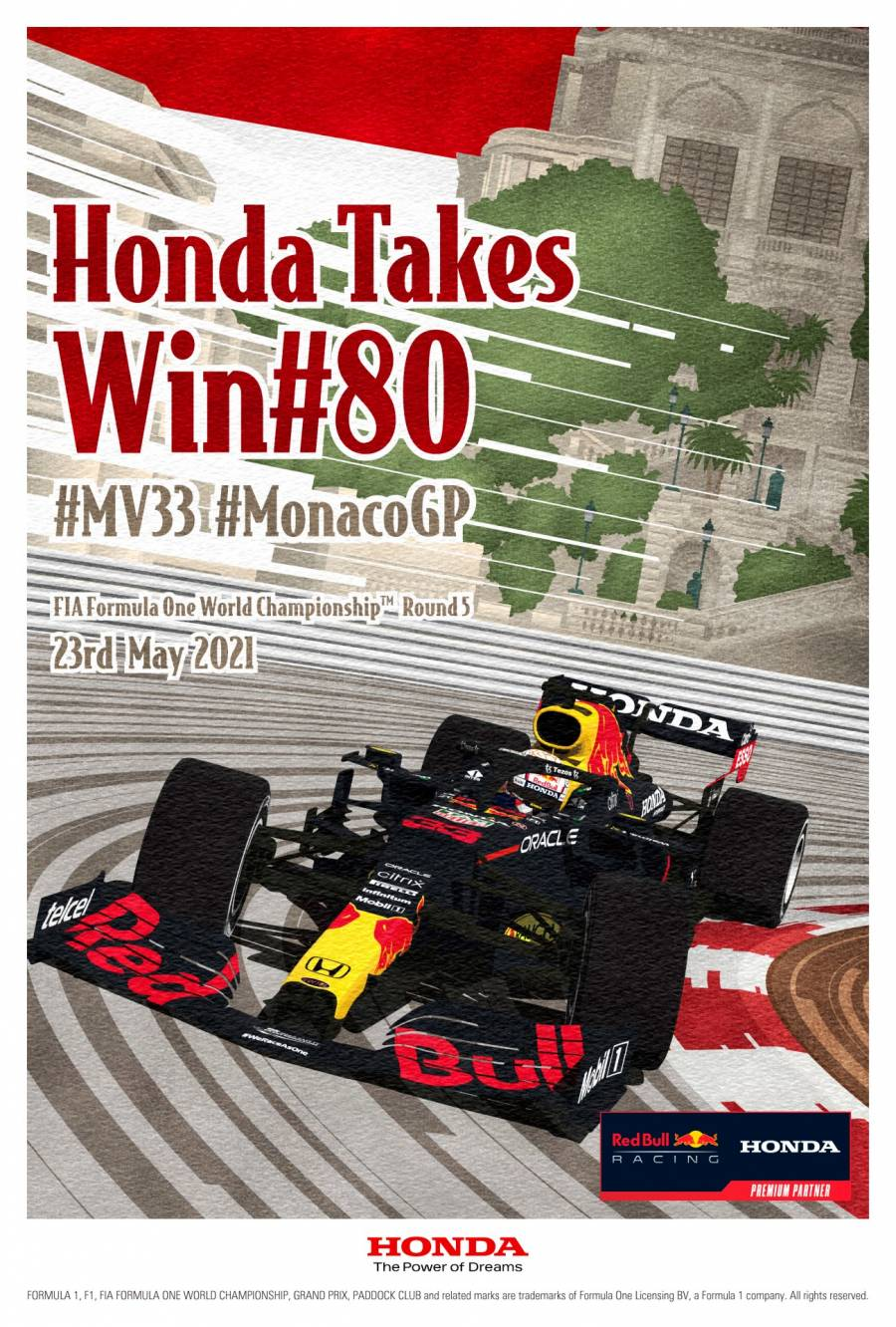 Download Our #MonacoGP Winners Poster here