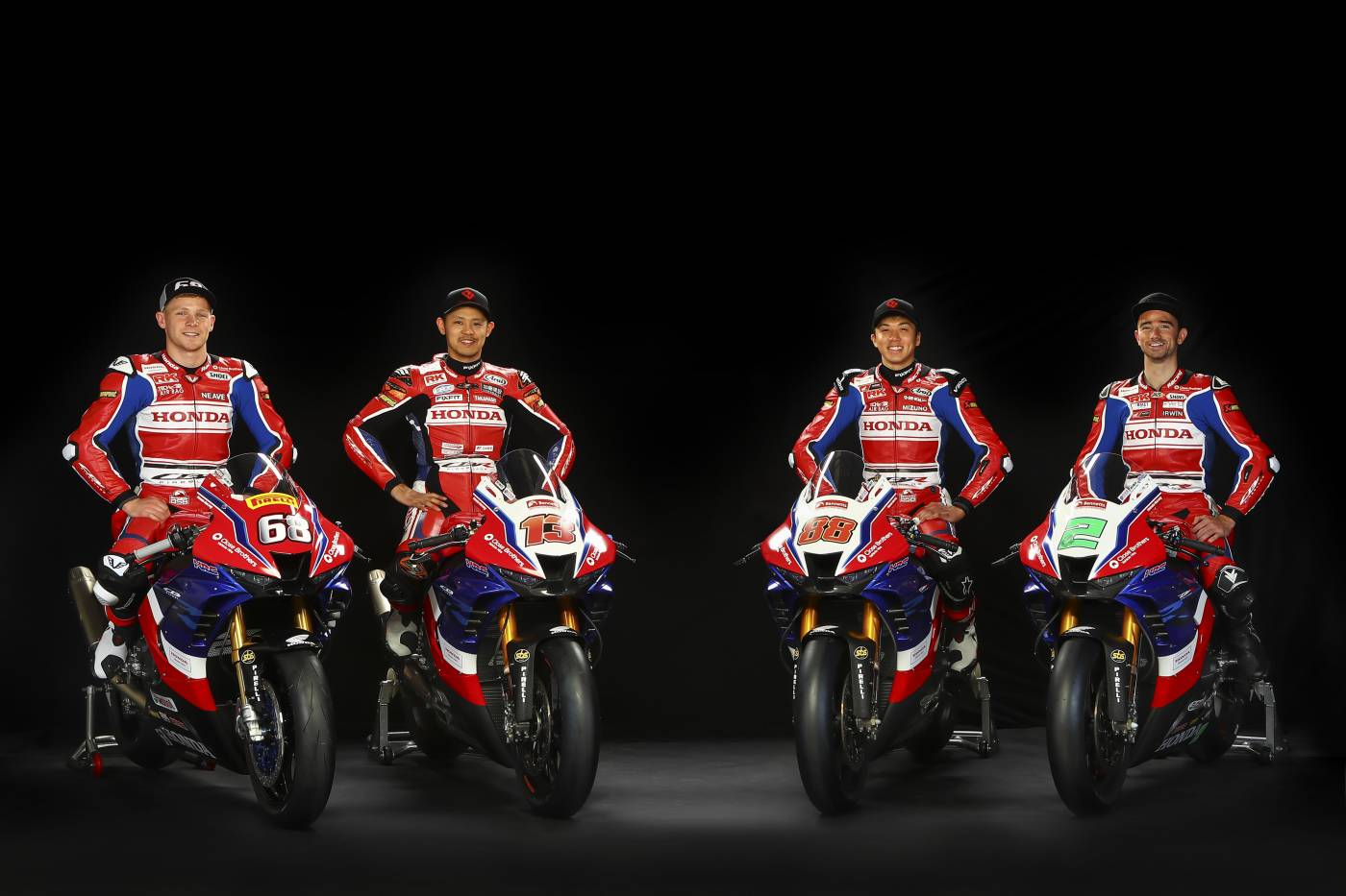 Honda Racing UKが2021年シーズンに向けCBR1000RR-R FIREBLADE SPのカラーリングを披露